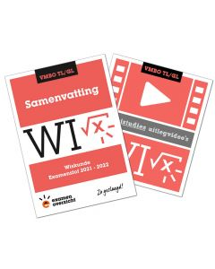 Samenvatting + Uitlegvideo's Wiskunde (VMBO TL/GL)