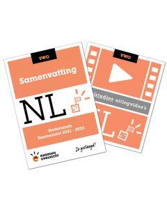 Samenvatting + Uitlegvideo's Nederlands (VWO)