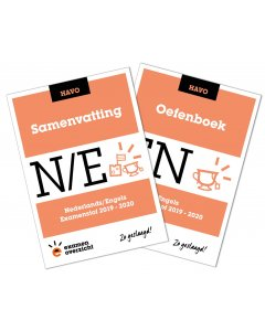 Samenvatting + Oefenboek Engels (HAVO)