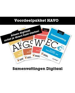 Voordeelpakket Samenvattingen Digitaal (HAVO)