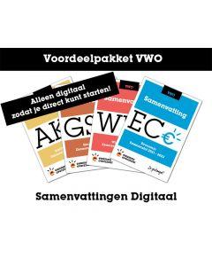 Voordeelpakket Samenvattingen Digitaal (VWO)