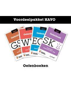 Voordeelpakket Oefenboeken (HAVO)