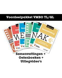 Voordeelpakket Samenvattingen + Oefenboeken + Uitlegvideo's (VMBO TL/GL)