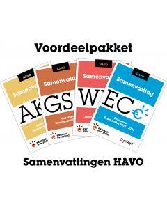 Voordeelpakket Samenvattingen (HAVO)