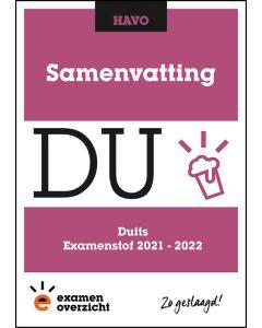 Samenvatting Duits (HAVO)