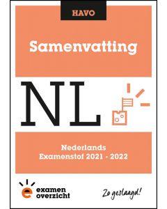 Samenvatting Nederlands (HAVO)