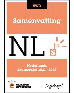 Samenvatting Nederlands (VWO)