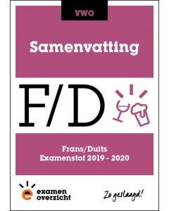 Samenvatting Frans en Duits (VWO)