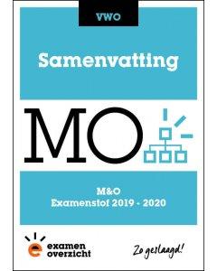 Samenvatting M&O (VWO)