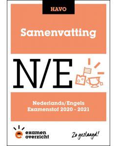 Samenvatting Nederlands en Engels (HAVO)