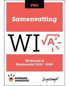 Samenvatting Wiskunde A (VWO)