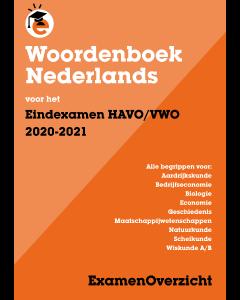 Woordenboek voor het Eindexamen HAVO/VWO