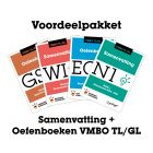 Voordeelpakket Samenvattingen + Oefenboeken (VMBO TL/GL)
