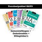 Voordeelpakket Samenvattingen + Oefenboeken + Uitlegvideo's (HAVO)