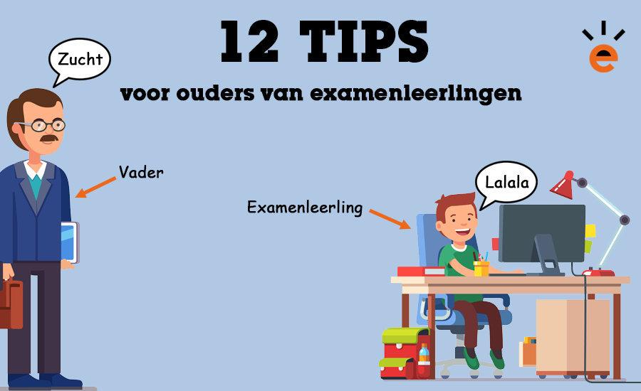 12 tips voor ouders van examenleerlingen