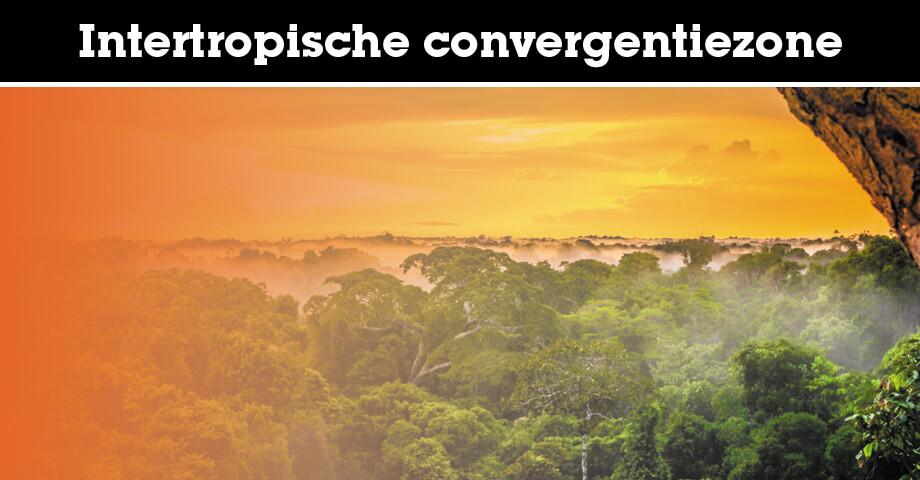 Intertropische convergentiezone (ITCZ)