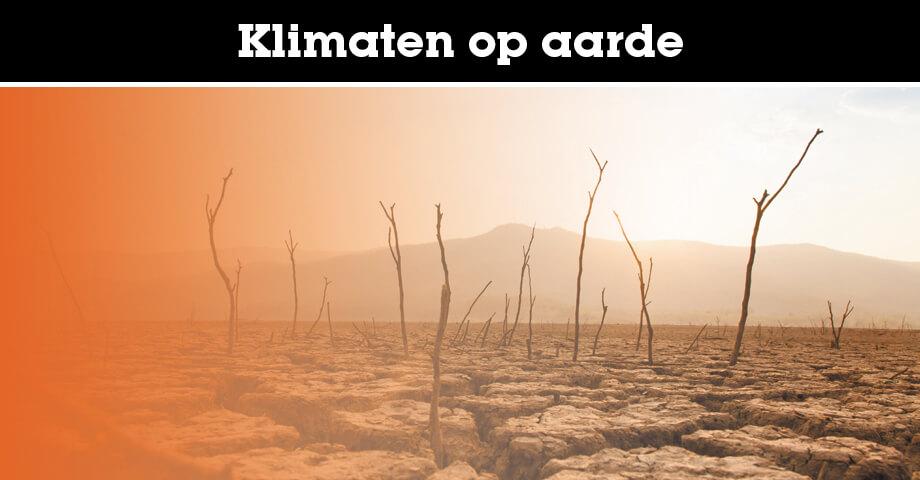 Verschillende klimaten op aarde