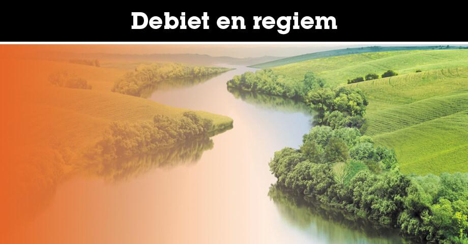 Wat is het verschil tussen debiet en regiem?