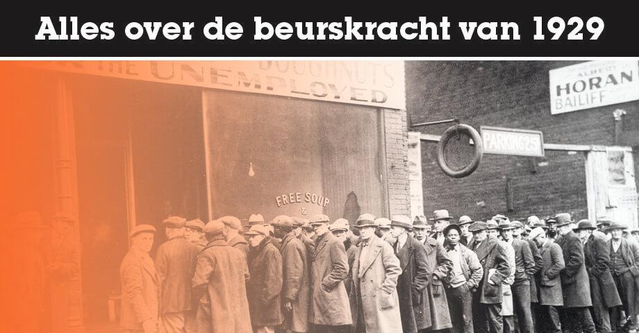 Alles over de beurskrach van 1929