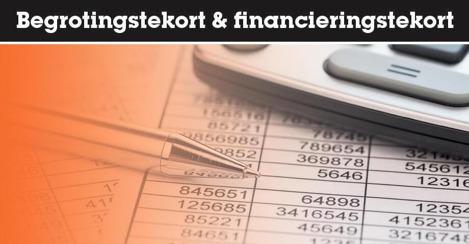 Begrotingstekort en financieringstekort