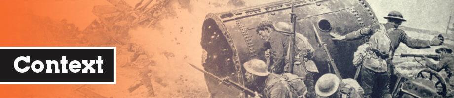 Context van de Eerste Wereldoorlog