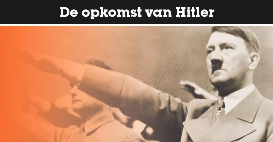 De opkomst van Hitler en de NSDAP