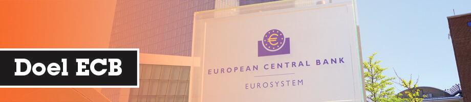 Doel van de Europese Centrale Bank