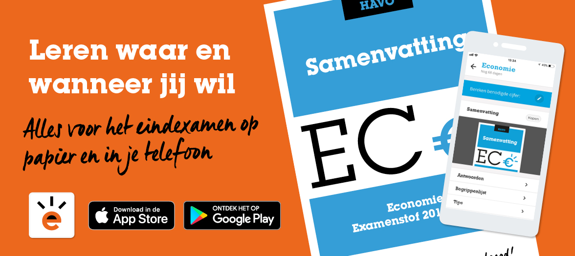 Download de ExamenOverzicht App