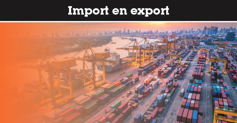 Import en export