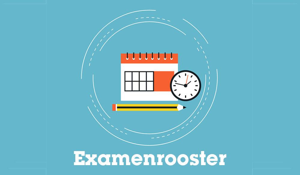 Examenrooster VMBO, HAVO en VWO