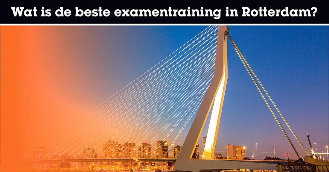 Wat is de beste examentraining in Rotterdam?