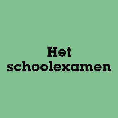 Het schoolexamen