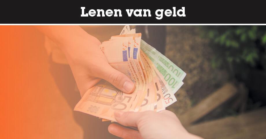 Lenen van geld