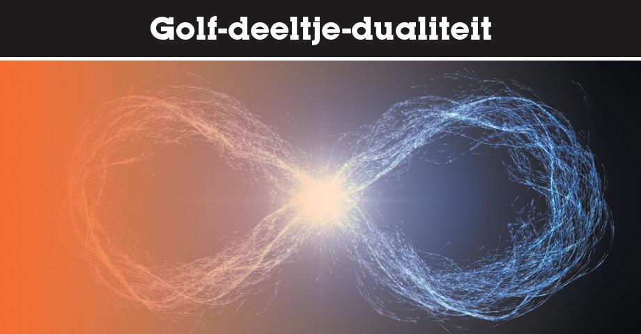 Golf-deeltje-dualiteit