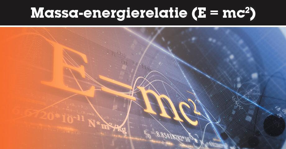 Massa-energierelatie