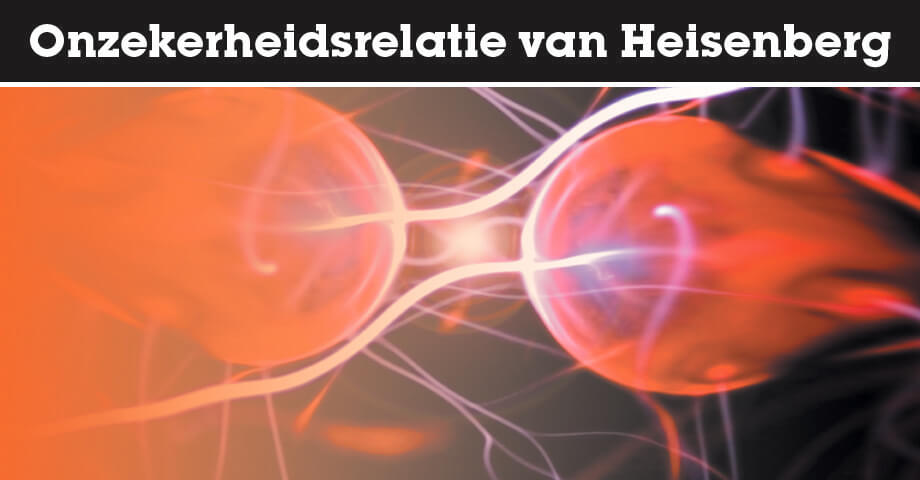 De onzekerheidsrelatie van Heisenberg