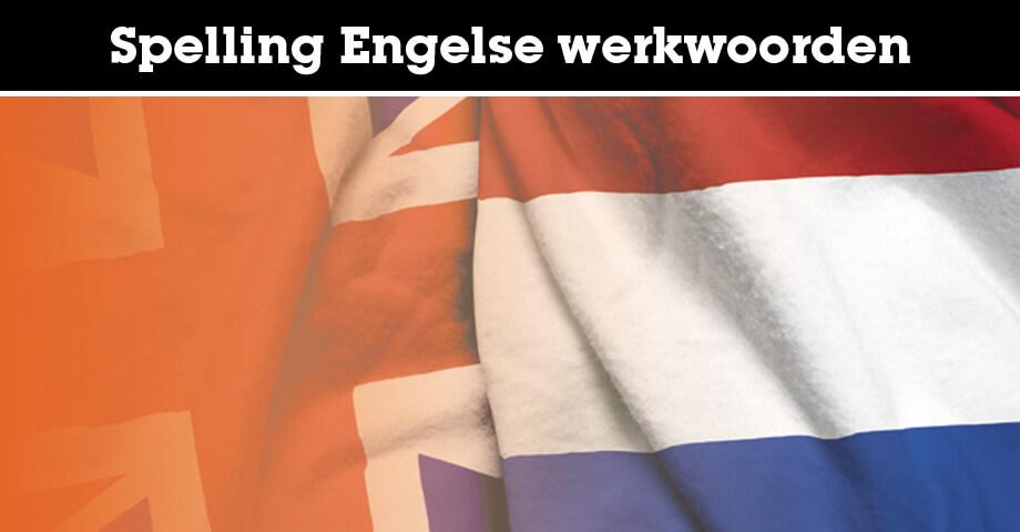 Spelling Engelse werkwoorden
