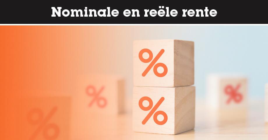 Nominale en reële rente