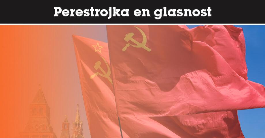 Perestrojka en glasnost
