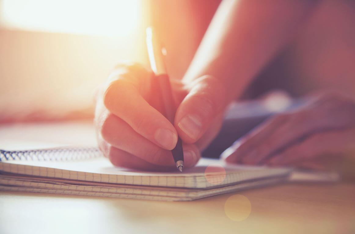 Schrijven in schrift