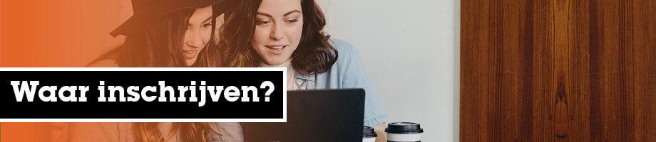 Waar inschrijven?
