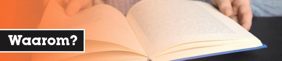 Waarom boekverslag schrijven?