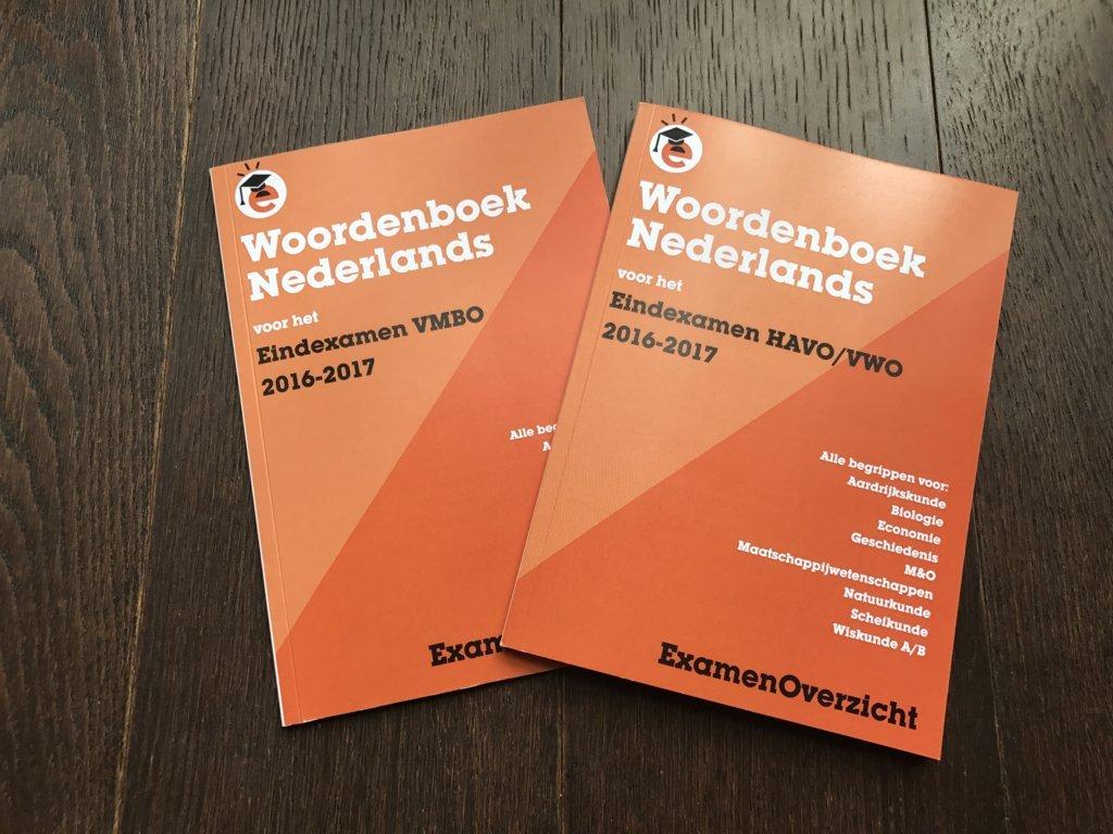 Woordenboeken voor het Eindexamen