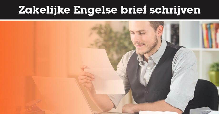 Zakelijke Engelse brief schrijven