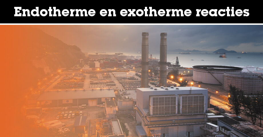 Endotherme en exotherme reacties