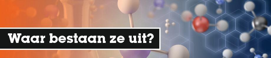 Waar bestaan moleculen uit?