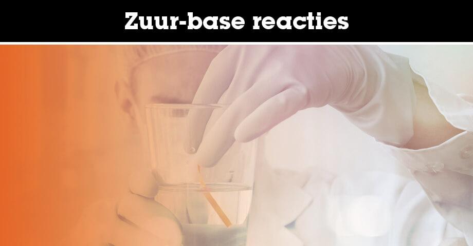 Zuur-base reacties